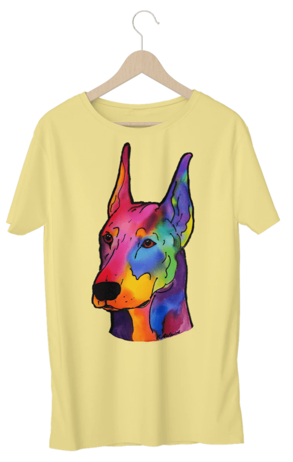 yellow dobie shirt