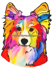 Cardigan Welsh Corgi #4 (Fluffy)