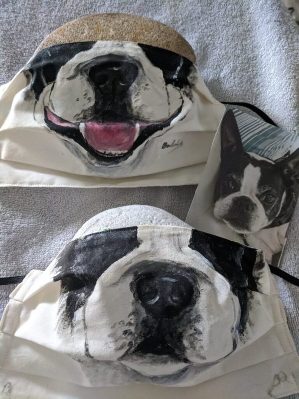 Boston Terrier Face Mask